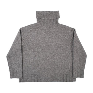 NILI LOTAN ZOE TURTLENECK SWEATER GREY