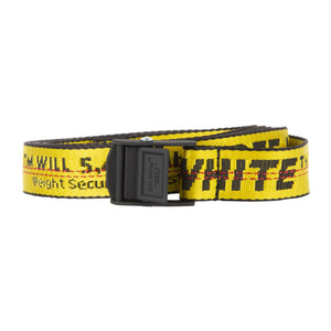 OFF-WHITE CLASSIC MINI INDUSTRIAL BELT YELLOW