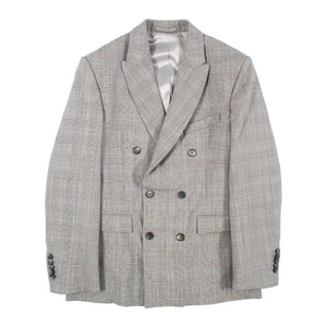 WARDROBE.NYC DOUBLE-BREASTED BLAZER GREY