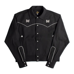 NEEDLES WESTERN JACKET BLACK
