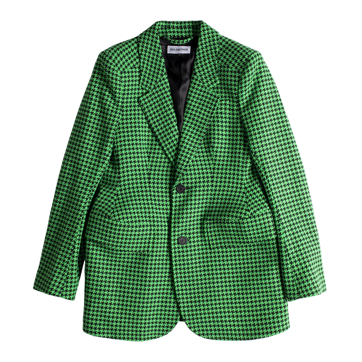 Load image into Gallery viewer, BALENCIAGA HOURGLASS BLAZER GREEN