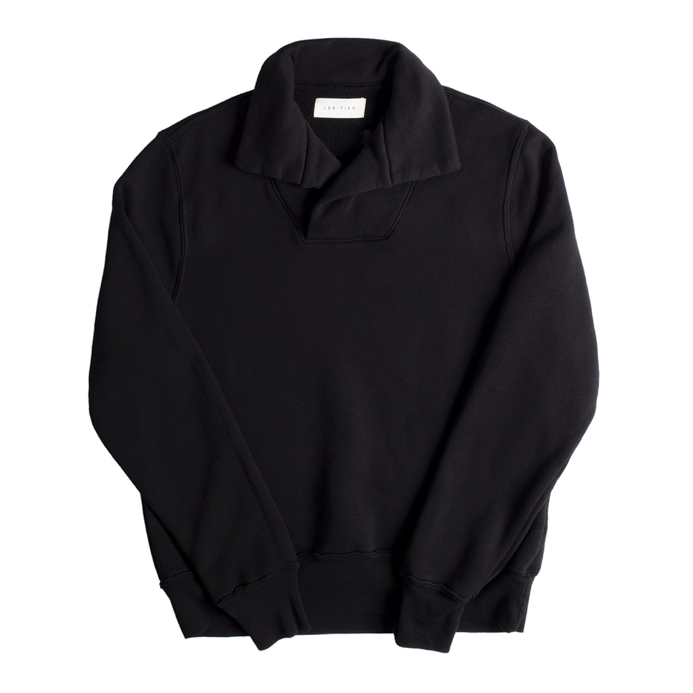 Load image into Gallery viewer, LES TIEN YACHT PULLOVER BLACK