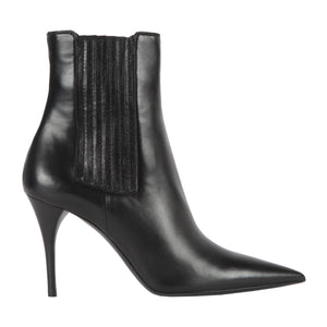 SAINT LAURENT LEXI 90 BOOTS BLACK