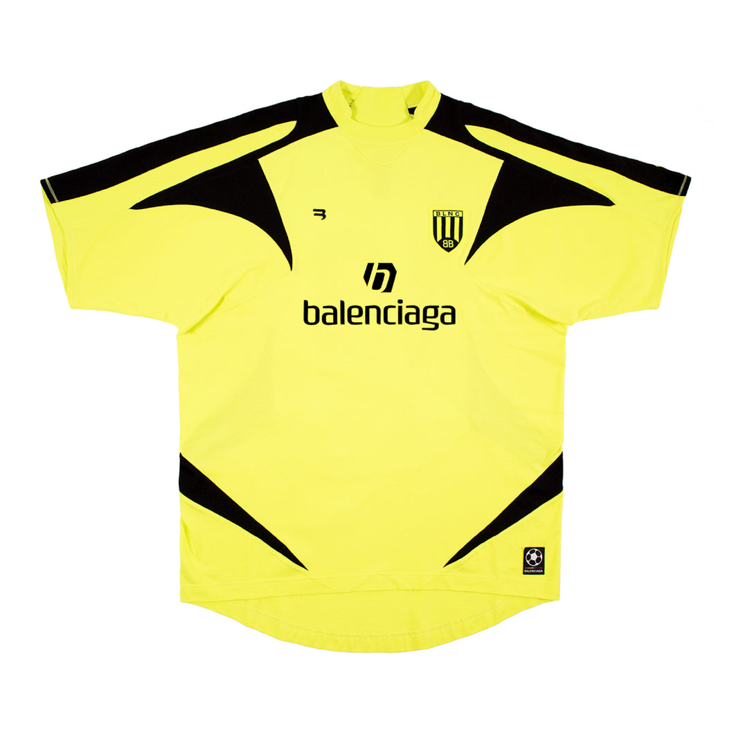 BALENCIAGA SOCCER T-SHIRT YELLOW