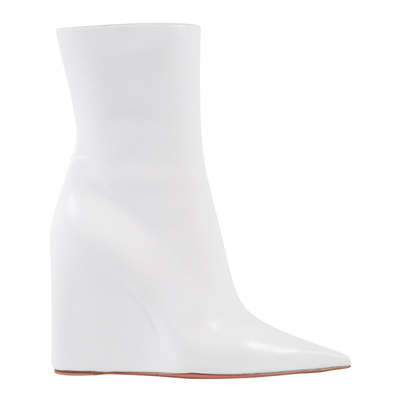 Load image into Gallery viewer, AMINA MUADDI PERNILLE BOOTIE WHITE