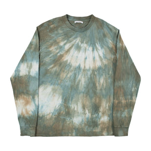 JOHN ELLIOTT LONG-SLEEVE TIE-DYE T-SHIRT MULTI