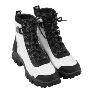"MONCLER ""HELIS"" BOOT WHITE"