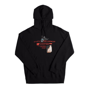 GIVENCHY PATCH HOODIE BLACK