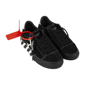 OFF-WHITE ARROW LOW VULCANIZED SNEAKERS BLACK