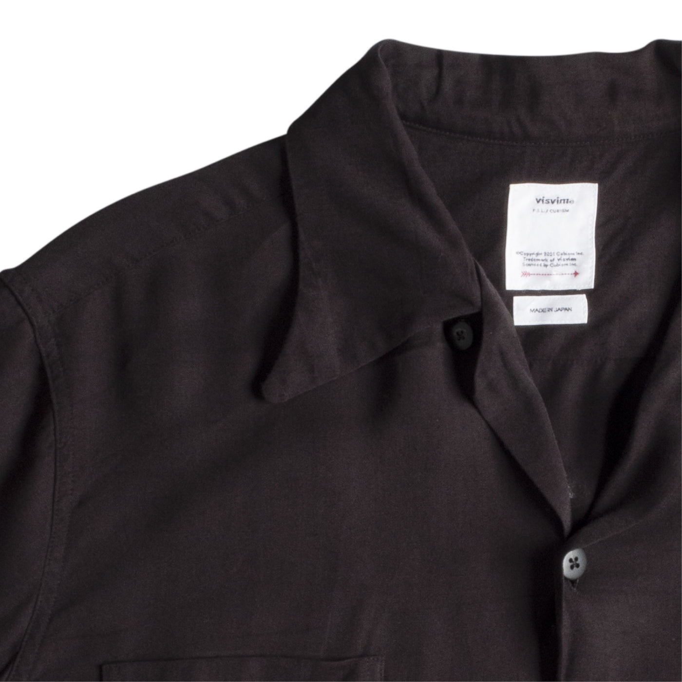 Load image into Gallery viewer, VISVIM IRVING SHIRT BLACK