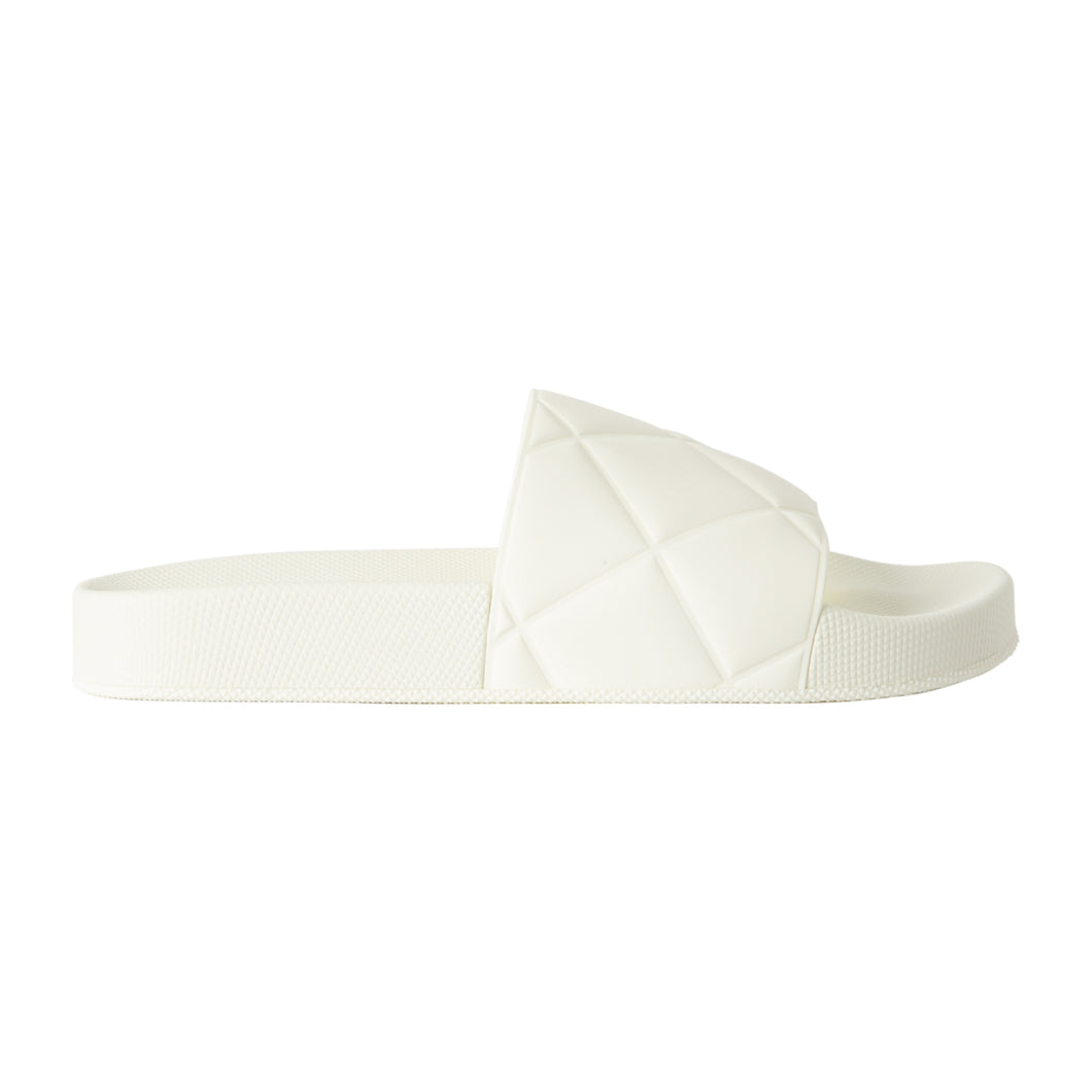 BOTTEGA VENETA SLIDES WHITE