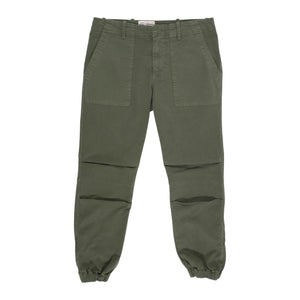 NILI LOTAN CROPPED MILITARY PANT GREEN