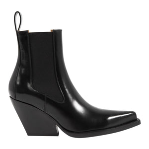 BOTTEGA VENETA ANKLE BOOTS BLACK