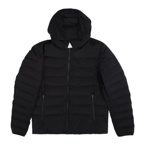 MONCLER EZE ZIP UP JACKET BLACK