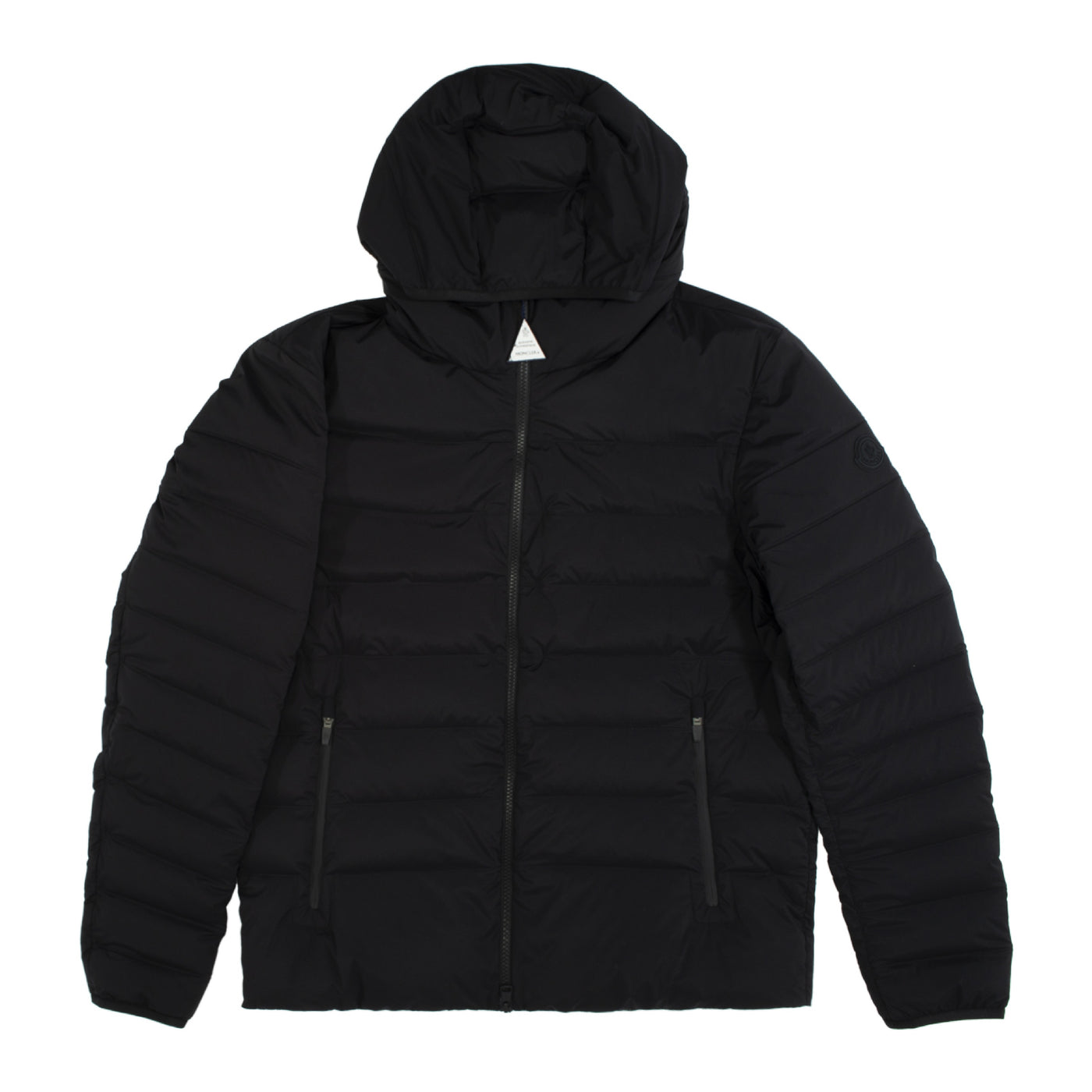 Load image into Gallery viewer, MONCLER EZE ZIP UP JACKET BLACK