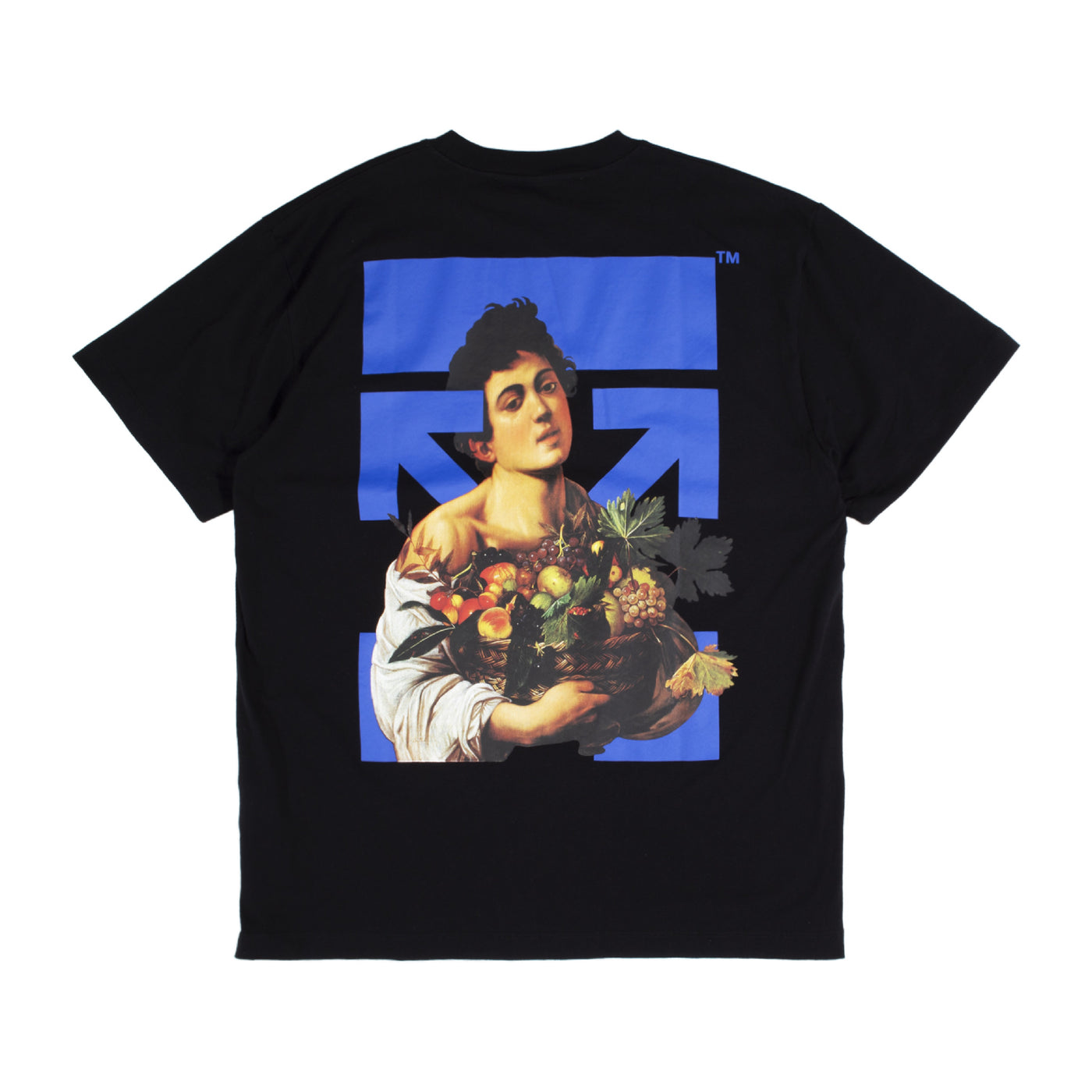 Load image into Gallery viewer, OFF-WHITE GRAPHIC PRINT T-SHIRT BLACK