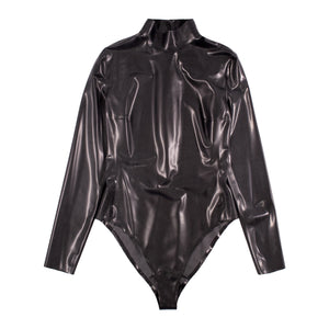 SAINT LAURENT BODYSUIT BLACK