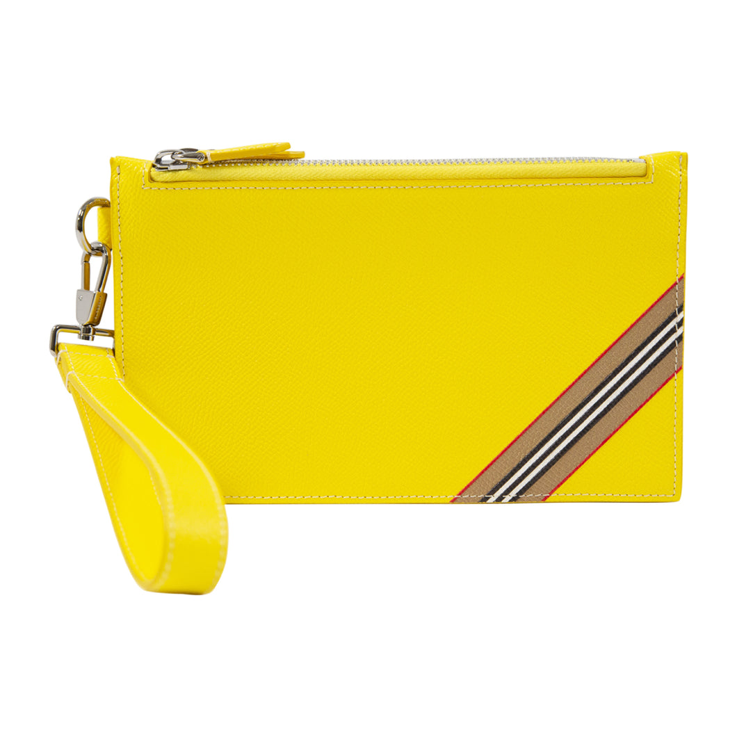 BURBERRY POUCH YELLOW