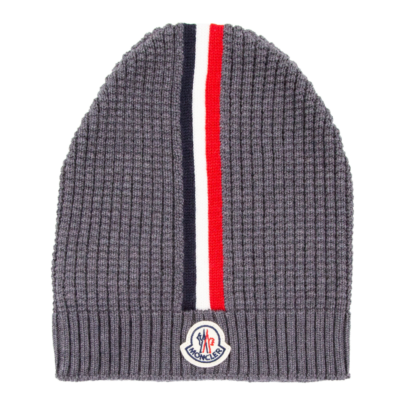 Load image into Gallery viewer, MONCLER KNIT BEANIE GREY