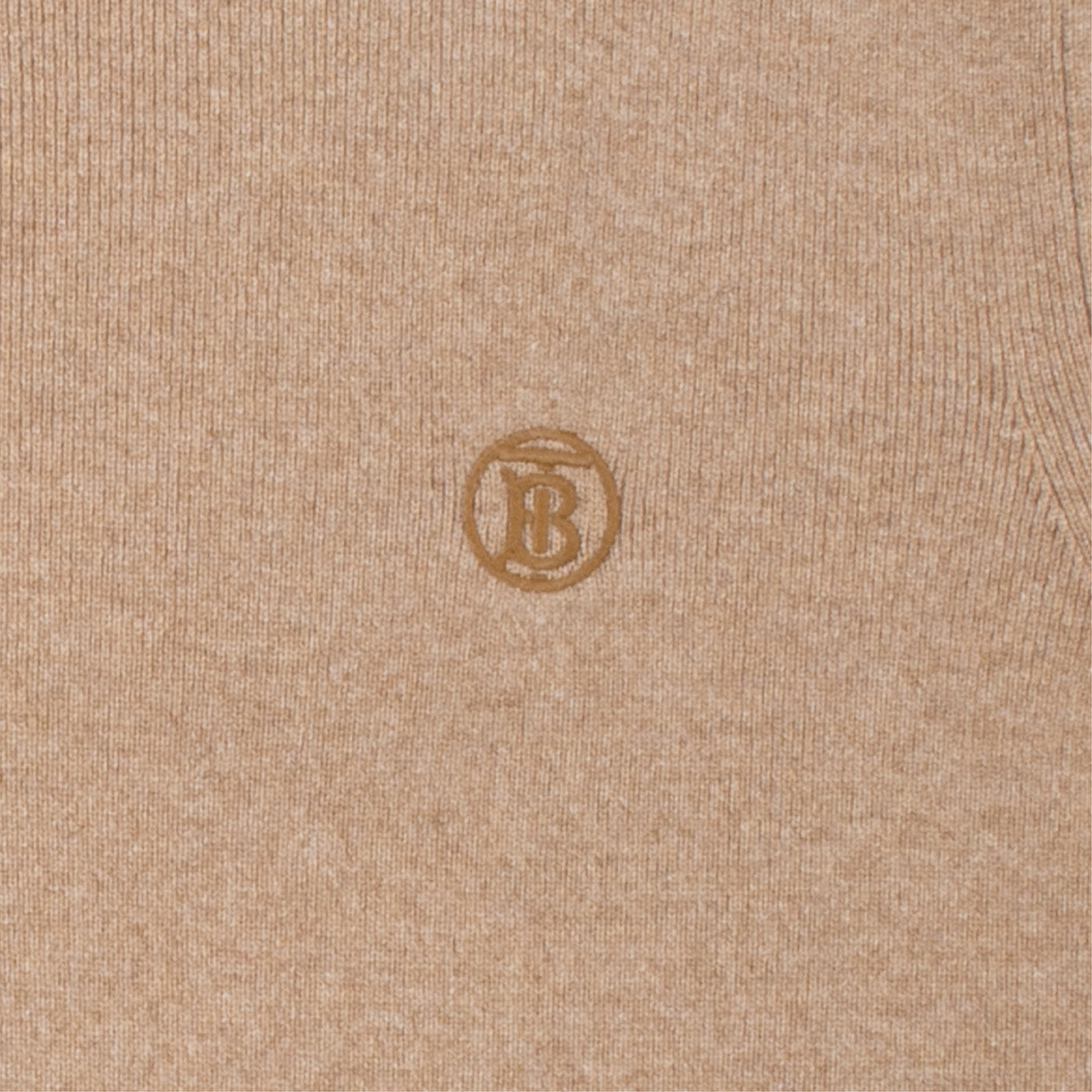 "Load image into Gallery viewer, BURBERRY ""LINDEN"" KNIT TOP NEUTRAL"