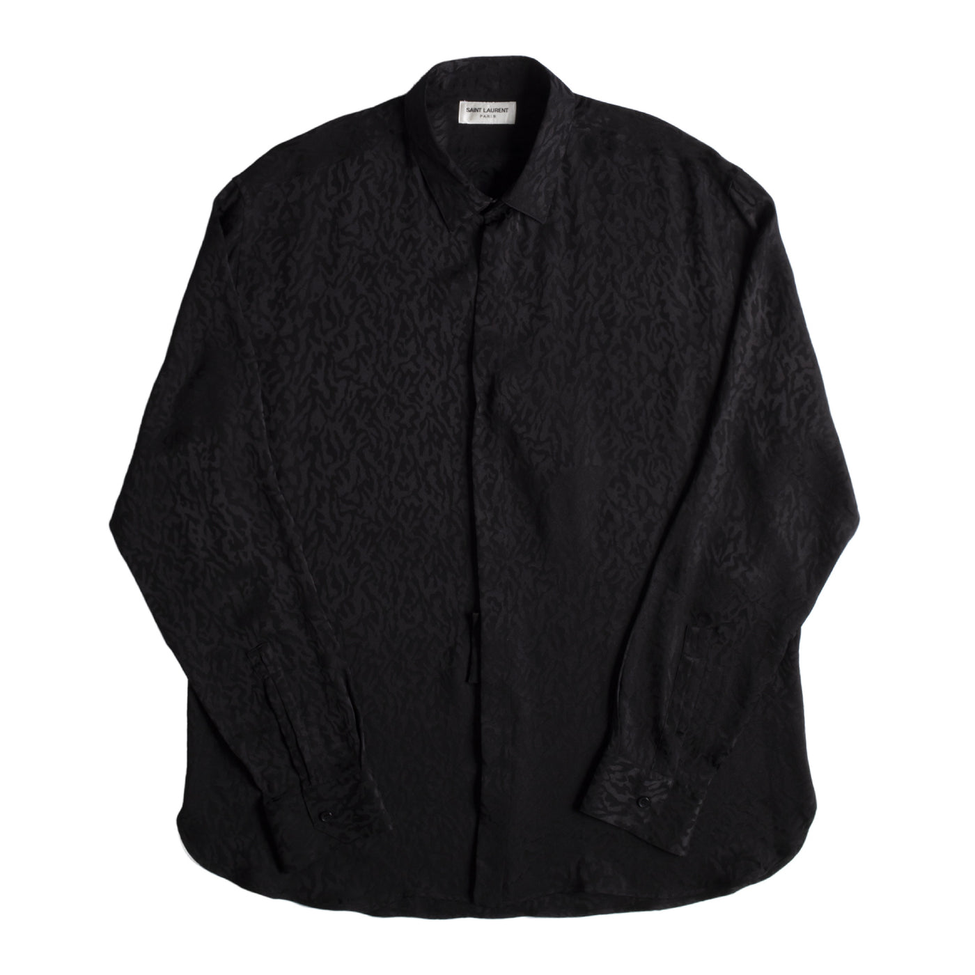 Load image into Gallery viewer, SAINT LAURENT SHIRT BLACK