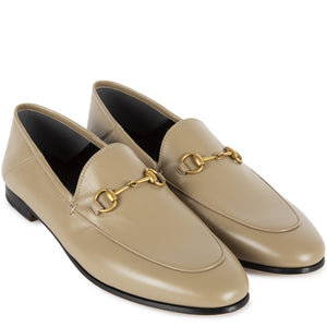 "GUCCI ""BRIXTON"" LOAFER NEUTRAL"