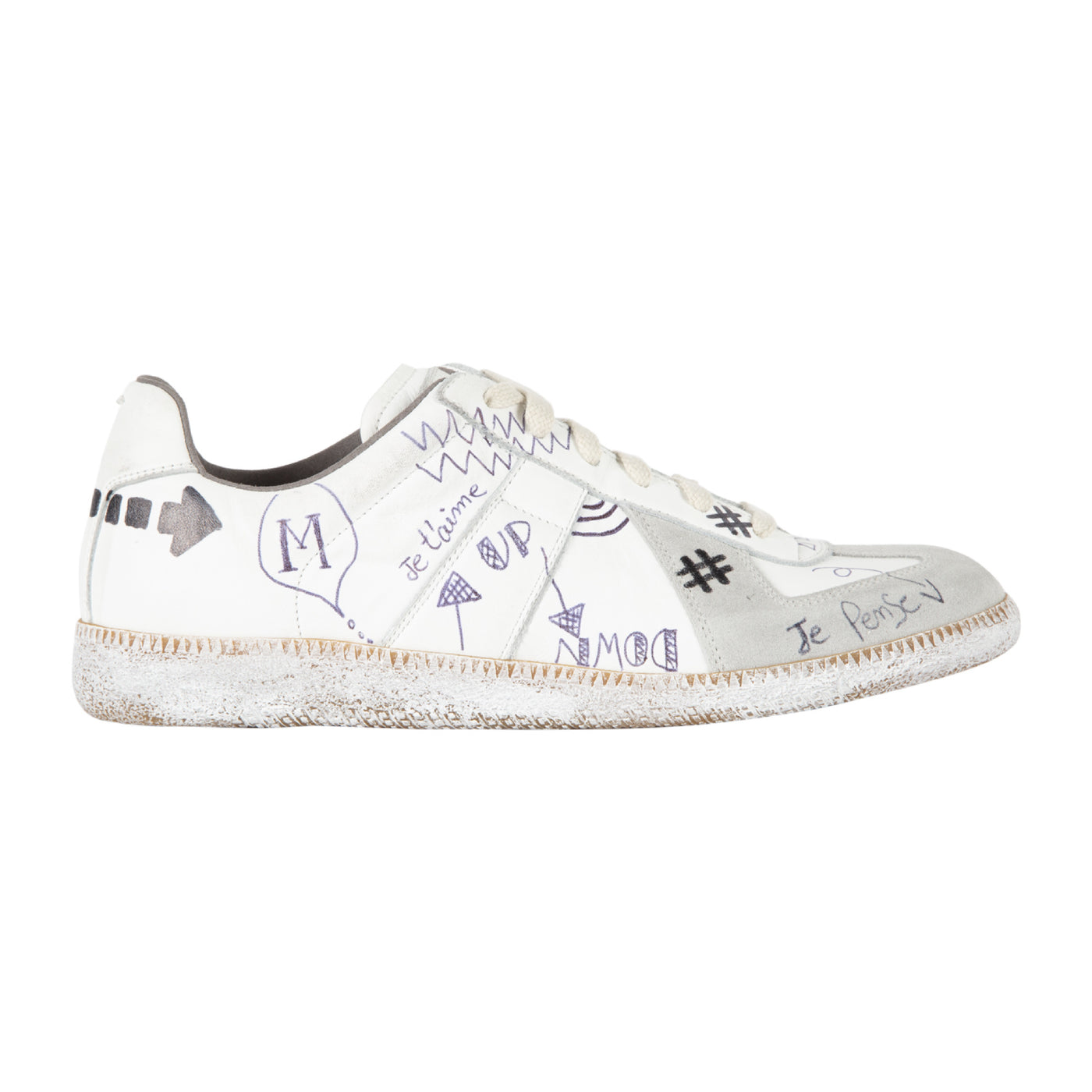 Load image into Gallery viewer, MAISON MARGIELA SNEAKERS WHITE