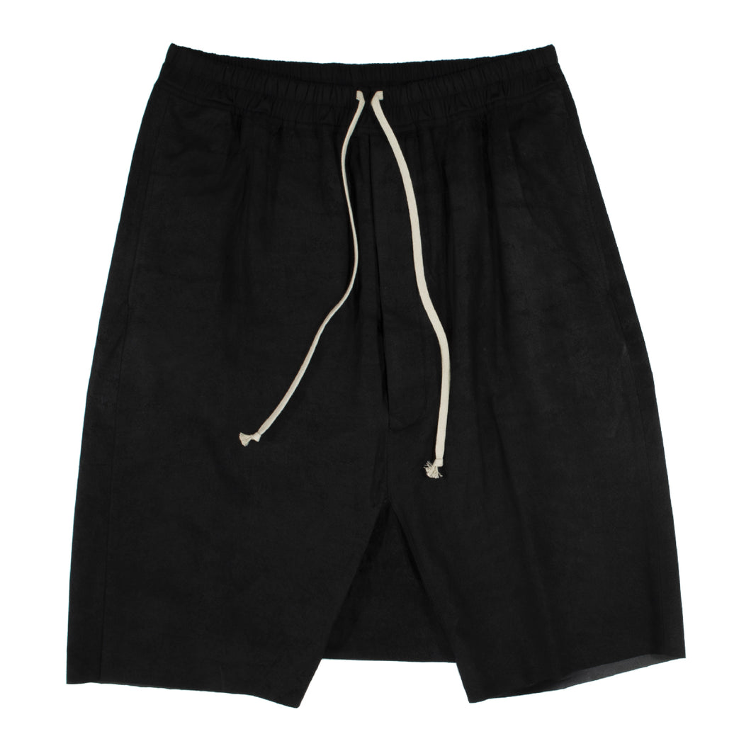 RICK OWENS POD SHORT BLACK