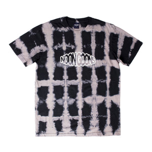 NOON GOONS TIE-DYE T-SHIRT BLACK