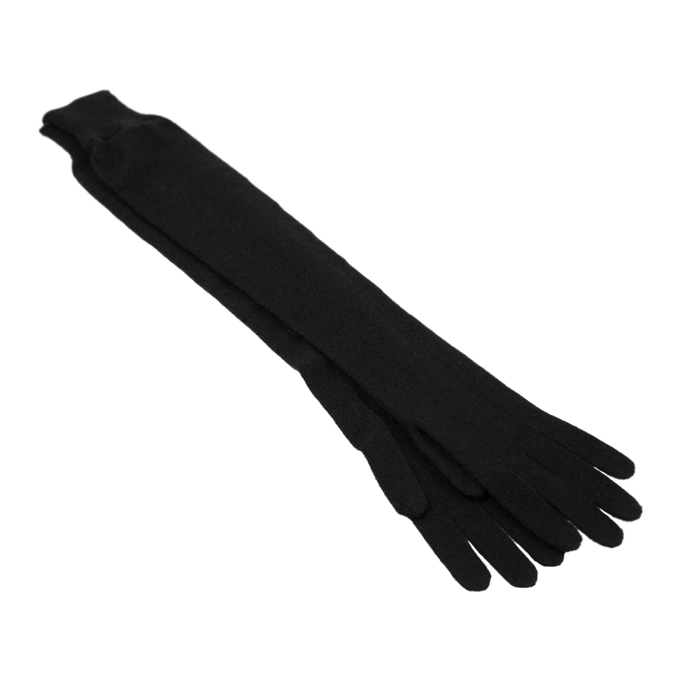 Load image into Gallery viewer, THE ROW CASHMERE-BLEND GLOVES BLACK