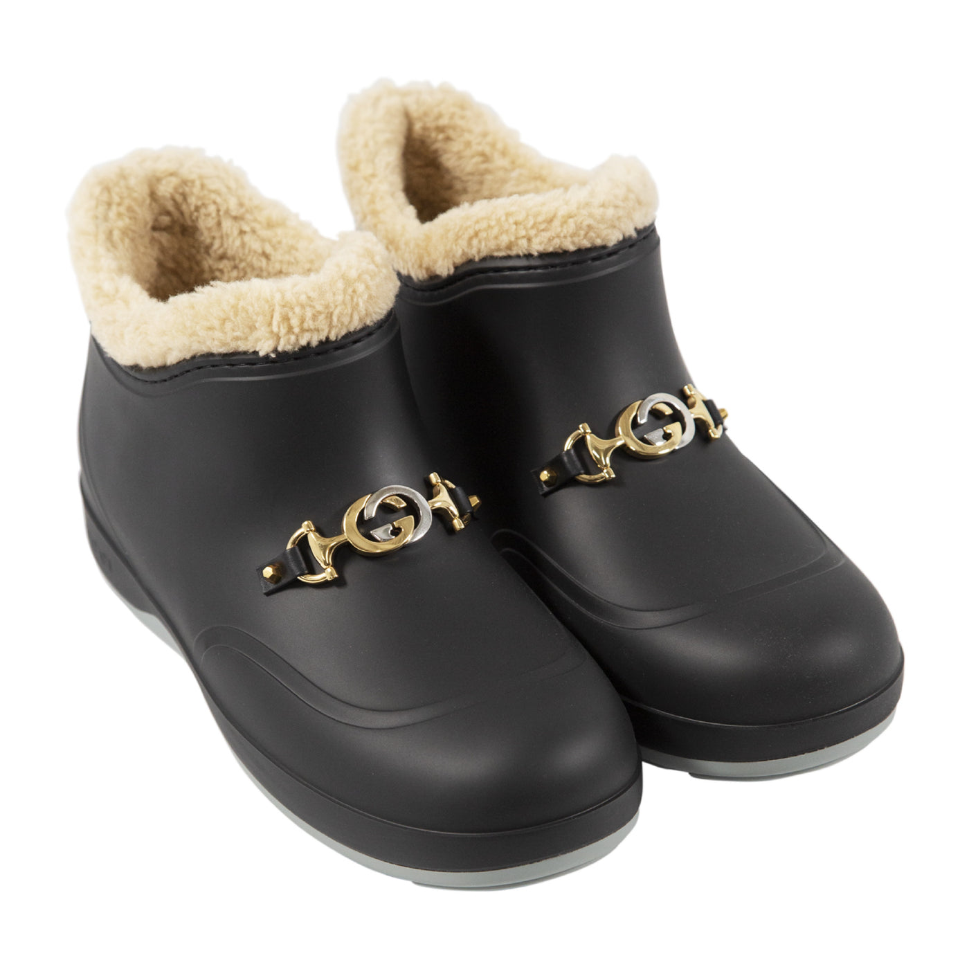 Load image into Gallery viewer, GUCCI SNOW BOOTIES BLACK