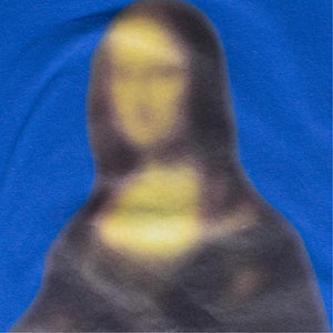 OFF-WHITE BLURRED MONA LISA OVER TEE BLUE