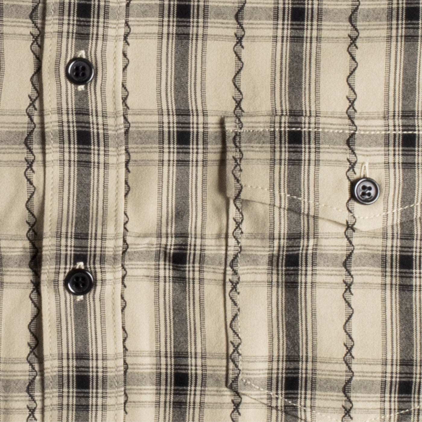 Load image into Gallery viewer, SAINT LAURENT PLAID SHIRT BROWN