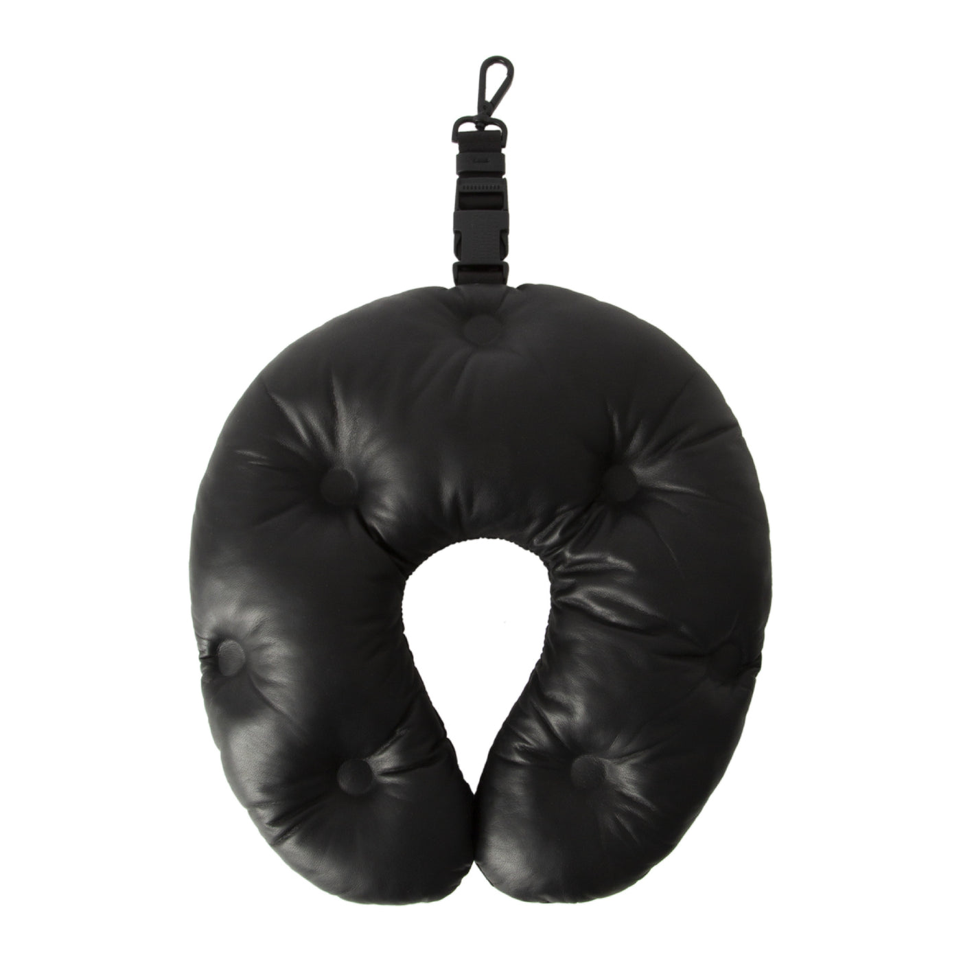 Load image into Gallery viewer, MAISON MARGIELA TRAVEL PILLOW BLACK