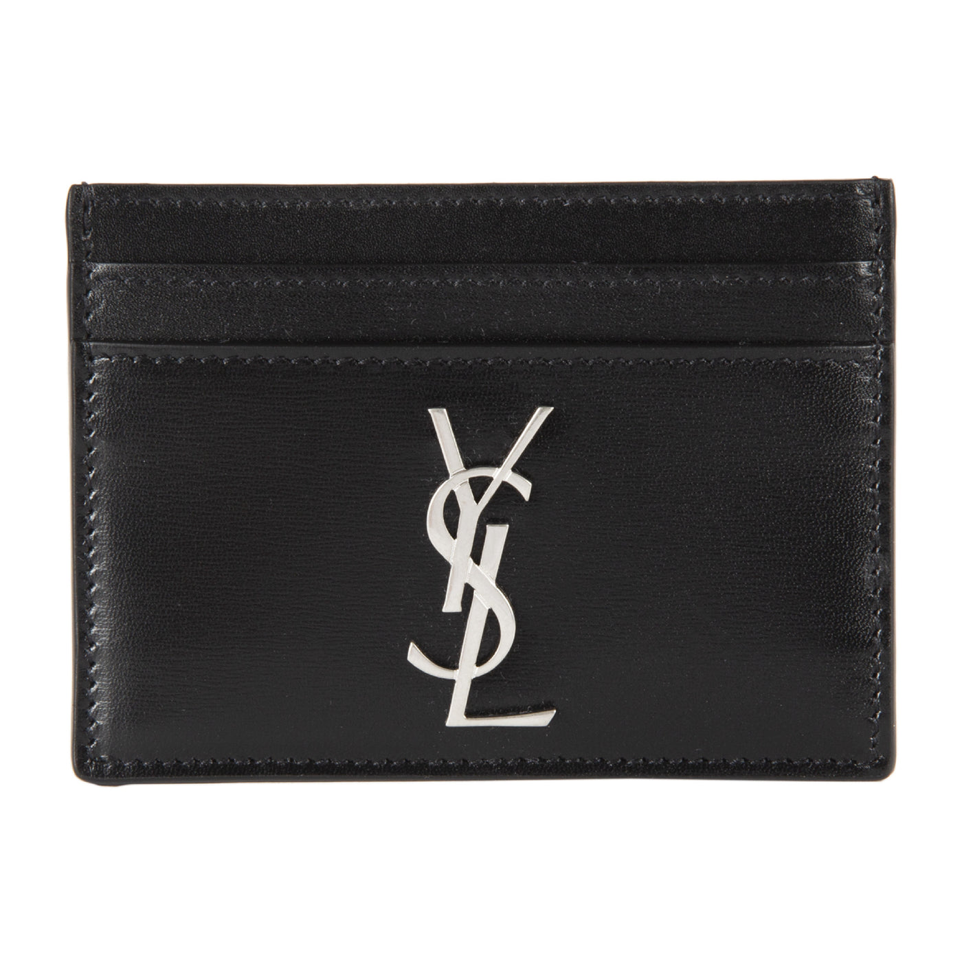 Load image into Gallery viewer, SAINT LAURENT YSL CARDCASE BLACK
