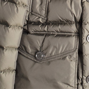 "MONCLER ""CLUNY"" JACKET GREEN"