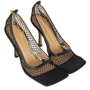 BOTTEGA VENETA STRETCH PUMPS BLACK