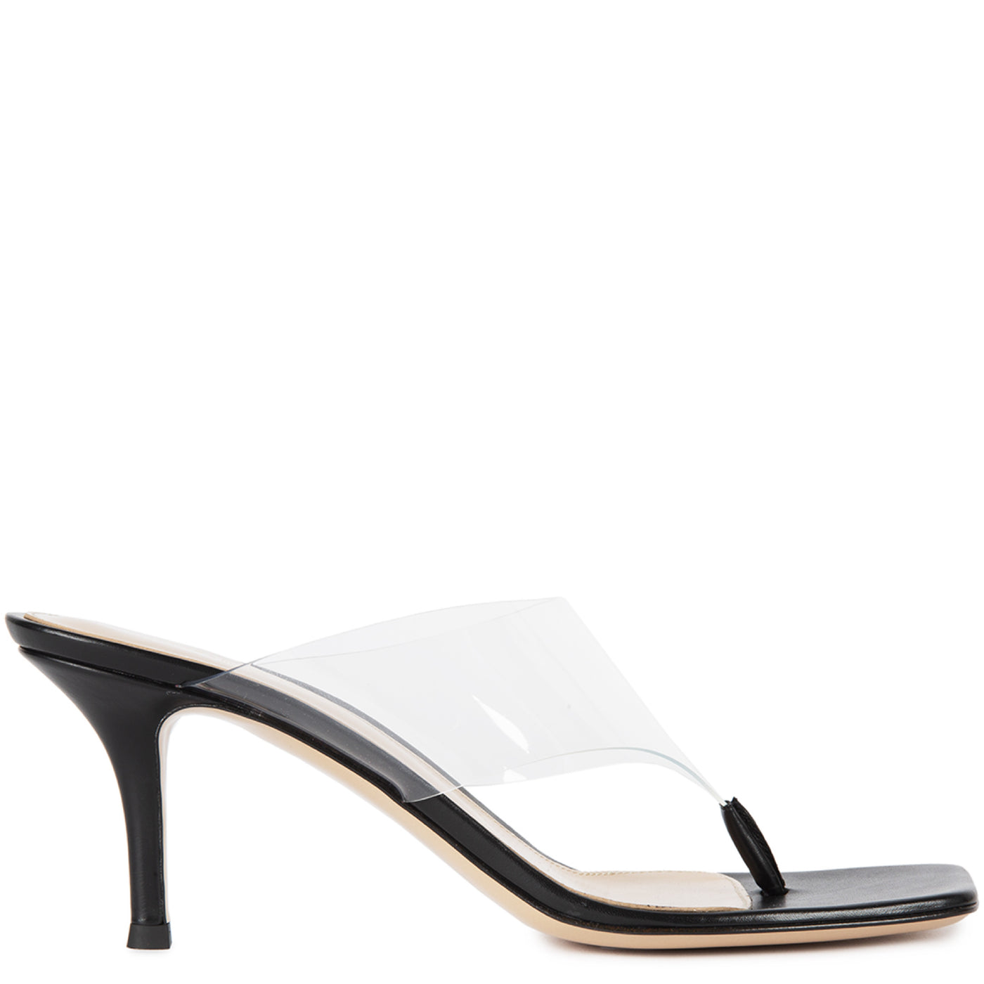 Load image into Gallery viewer, GIANVITO ROSSI PVC SANDALS BLACK