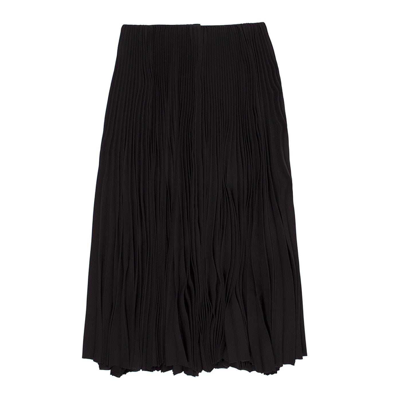 Load image into Gallery viewer, BALENCIAGA PLEATED SKIRT BLACK