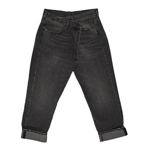 R13 CROSSOVER JEANS BLACK