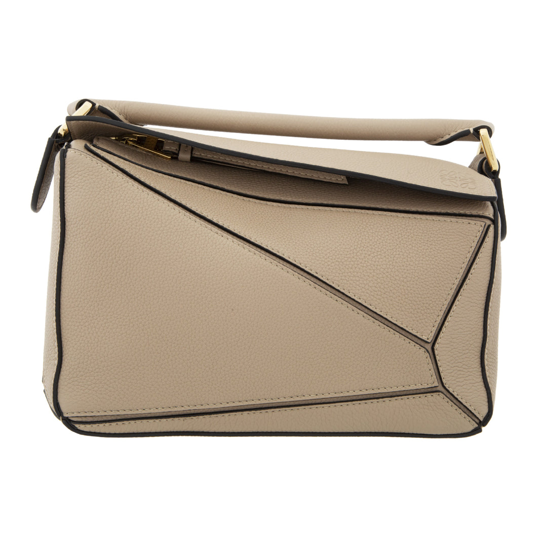 LOEWE PUZZLE SMALL BAG NEUTRAL