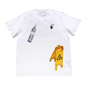 OFF-WHITE PASCAL MEDICINE OVER TEE WHITE