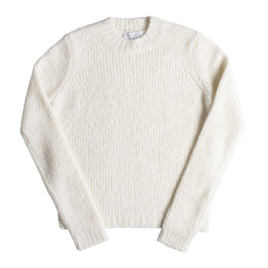 GABRIELA HEARST PHILIPPE CASHMERE BOUCLE SWEATER NEUTRAL
