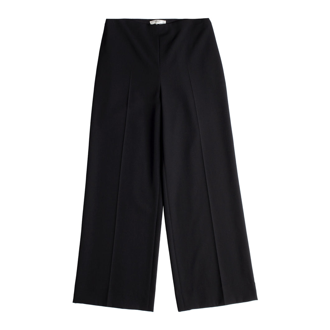 THE ROW CROPPED PANTS BLACK