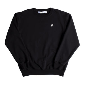 OFF-WHITE ARROW CREWNECK BLACK