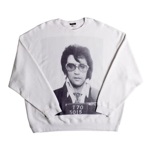R13 OVERSIZED CREWNECK SWEATSHIRT WHITE