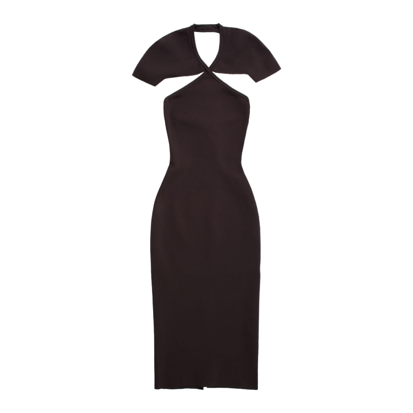 Load image into Gallery viewer, KHAITE PIERA DRESS BROWN