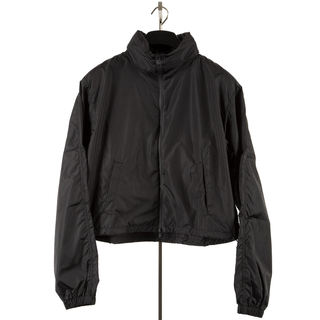 WARDROBE.NYC SPORT WIND BREAKER BLACK
