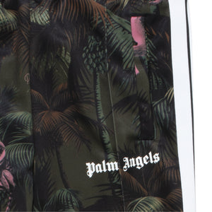 PALM ANGELS JUNGLE CLASSIC TRACK PANTS GREEN