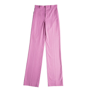 ATTICO RTW CANVAS PANTS W- ANKLE TIES PINK